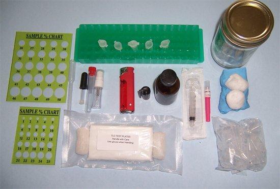 THC testing Kit
